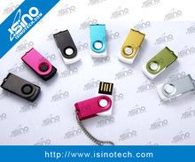 Swivel 1GB,2GB ,4GB,8GB ,16GB Metal label usb flash drive With CE