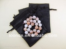 High quality 3x4 inch satin jewelry velvet gift pouches
