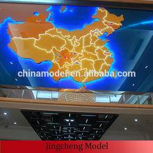 Map scale model, scale model map