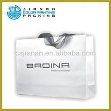 2014 hot sale JIANAN plain cheap brown paper bags with handles
