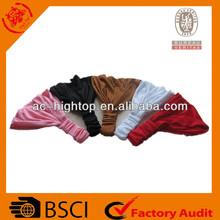 BSCI girl's plain dyeing headband/bandana