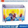 Populaire utilisé crème glacée showcase congélateur coffre/ice cream réfrigérateur