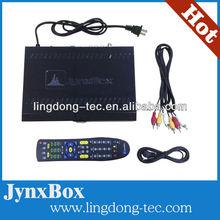 HD Satellite receiver Jynxbox V3 V4 ultra hd with JB200 module V3 work in North America in stock