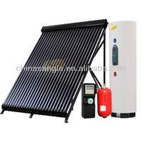 Heat pump heat pipe solar water heater split system