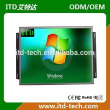 "CGA EGA VGA Open Frame LCD Monitor 7""~82"" touch screen optional"