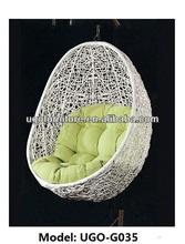 Hanging garden swing chairs single seat swing chair rattan hammock