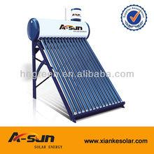 5L 8L 10L low pressure solar water heater solar assistant tank