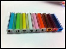 Second generation lipstick transparent shell type power bank, mini cute charging treasure, single section wholesale power bank