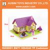 3d puzzle plastic toy building block toy for children