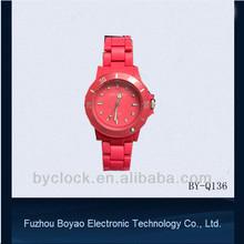 fashion popular women's plastic watch