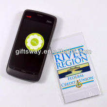 microfibre cell phone case stickers / mobile phone sticker