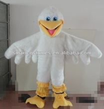 white pelican mascot costume pelican bird adult costume