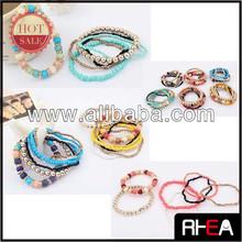 2014 Most Popular Design Handmade Beaded Bracelet Set