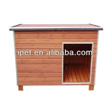 Outside wooden decorative dog kennels DK005