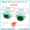 security polycarbonate electric Meter seals KD-604
