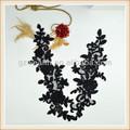 çiçek nakış boyun tasarım/tığ yaka giysiler/gece elbisesi