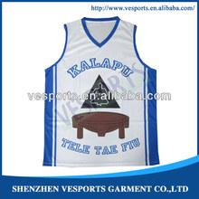 2014 new design usa basketball tops