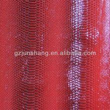 2014 newest snake skin leather for shoes upper and handbag usage