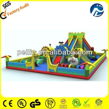 giant inflatable bouncy playground for kids