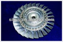 Turbine Blade for auto parts through precision casting
