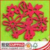 red felt coaster, cup coaster, cup mats