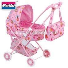 Feili kids educational toy girl push chair doll walker toy doll stroller