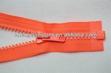 high quality sexy zipper front mini dress