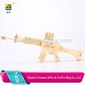 Melhor venda mini carabina puzzle madeira 3d quebra-cabeças de jigsaw puzzle arma
