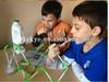 Popular plastic DIY crazy straw for drinking fun