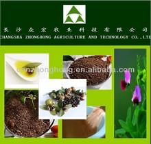 De la acuicultura para fertilizantes shimp/té harina de semilla sin paja