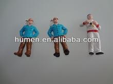 Fashion plastic POM dolls of kid's gift mini toy