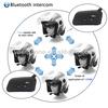 wireless V4-1200 bluetooth motorcycle helmet headset with fm radio