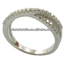 3 Stones Oval Diamond Finger Ring Classic Designs/Designer SC142