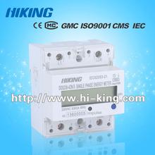 three phase DIN Rail multifunction RS485 electronic Meter/Energy meter/kWh meter