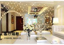 clear Crystal Curtain for home decoration,,crystal bead window curtains