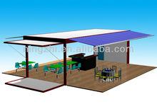 prefab mobile coffee bar/portable coffe container/moving coffe contianer shop