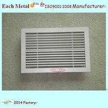 de aluminio durable de aire de ventilación del sistema