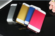 3500mah metal battery case charger for iphone 5s 5