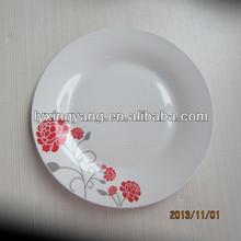 porcelain round edged flat plate,bulk porcelain plates,ceramic plate making machine
