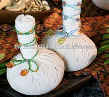 Organic Herb ball for thai organic massage and spa