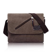 2014 Designer Vintage portable Casual vintage postman canvas bag shoulder bag Messenger bag for men Baigou moq 1 pcs mixed order