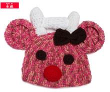 cheap wholesale crochet bear beanie hat