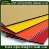 Colorful fireproof A2 PVDF/PE coating aluminium compoiste panel