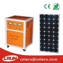 Off grid 1000W mini project solar power system