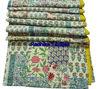 RTKG-4 Cotton Fabric Patchwork Handmade Old Kantha Gudri Traditional Throw Bedspread Indian Textile Wholesaler Jaipur