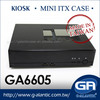 GA6605 industrial chassis kiosk mini case for Security