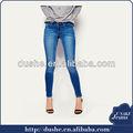 2014 moda sexy superior girls' dril de algodón pantalones vaqueros