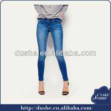 2014 fashion sexy top girls' denim jeans