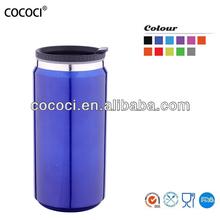 16oz fashion double wall insulated water mug can