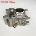 Vino50 bloco de cilindro kit 38 mm peças para mini moto 49cc